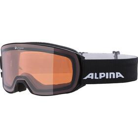 Alpina Alpina Nakiska QH Occhiali A Maschera, nero/arancione